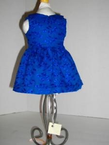 Designer Kate Middleton dress for 18 inch American Girl doll.