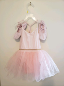 H&M Pink balerina dress 6ys shoe size 13 almost new