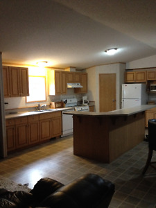 Whitecourt furnished rental available immediately.