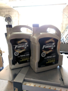 10w-30 Synthetic oil