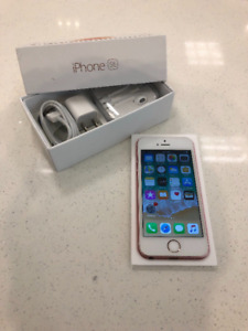 ROSE GOLD IPHONE 5SE 64GB UNLOCKED IN BOX WITH NEW ACCESSORIES