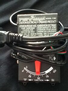 Model train controller, Presidents Choice F352