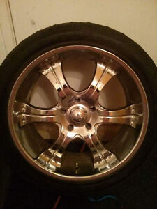 22inch wheels and tires