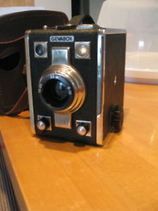 Gevabox camera with original case