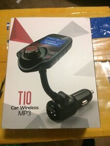FM Transmitter, Bluetooth Car Kits with Music Control and TF Car Regina Regina Area image 7