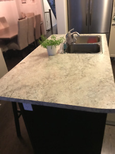 Laminate Counter Tops with Sinks