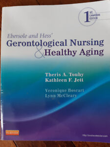 RN/RPN Text Books: Gerontological Nursing and Healthy Aging