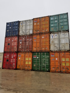 20  ft Used Shipping & Storage  Containers ( Sea-cans)  for Sale