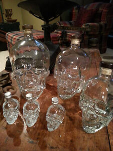 SKULL VODKA HEAD COLLECTION