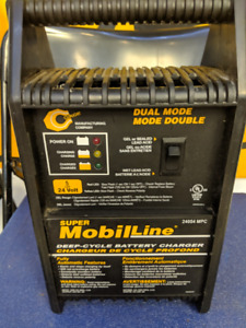 Super Mobil Line Deep Cycle Battery Charger for Scooters ETC