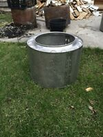 Stainless steel fire pit only 2 left $65