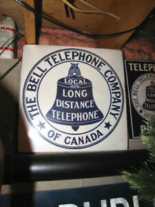 Wanted: Antique \ Vintage - Telephone Signs