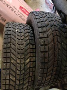 Firestone winterforce 4 tires 400 obo 1yr old