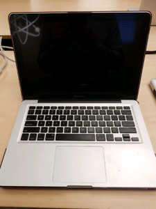 13' macbook pro late 2009 with SSD
