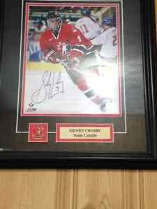 2 Sidney Crosby framed pictures