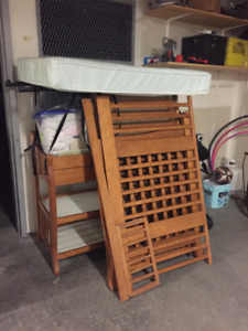 Crib/Change Table with mattress