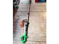 Telescopic electric chainsaw