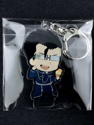 Fullmetal Alchemist SD Acrylic Key Holder Ring SWEETS PARADISE Maes Hughes