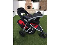 Phil and Teds Vibe pushchair / pram / buggy