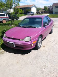 1996 Plymouth Neon for sale-As Is No Safety