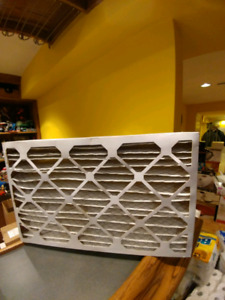 New furnace air filter 16x25 for sell