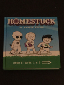 Homstuck book  1 (HC) Acts 1 +2