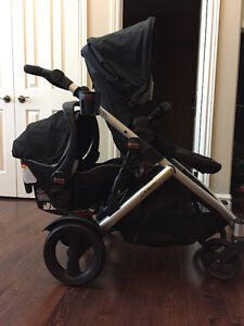Britax B-Ready Double Stroller (For twins or infant + toddler)