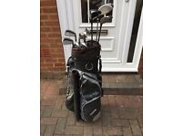 Full golf set and bag