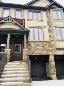 New upgraded Ancaster Townhouse 3 BR backs onGreenspace