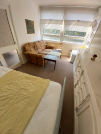 Kennington Park * Oval * Sunny Double Room with a sofa