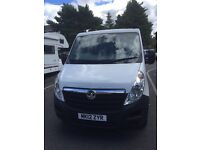Vauxhall movano pick up 2012 2.3 diesel double cab