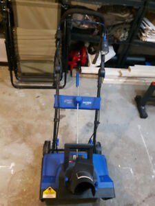 Electric snowblower used 1 winter