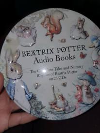 Beatrix Potter audio books