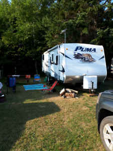 2012 Puma travel trailer