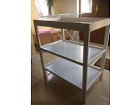 White mothercare changing table