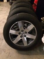 2015 Honda Pilot rims and tires