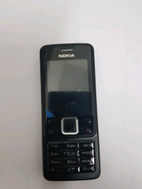 Nokia 6300 mobile phone unlocked AA