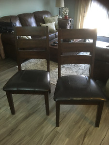 "I have 6 for sale ""Dinning room chairs"""