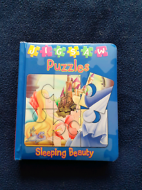 Sleeping Beauty puzzle book