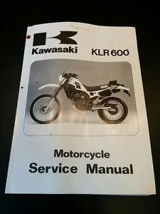 Manuel service KLR 600 650