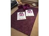 Cushions mat and canvas