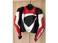 Ducati motorcycle leather suit