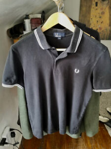 Fred Perry Men's Twin Tipped Shirt (M)