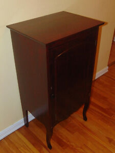 Re-finished Antique Record Cabinet