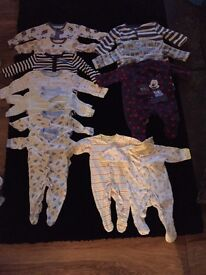 First size sleep suits