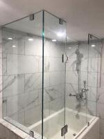 SHOWER GLASS DOOR FRAMELESS ENCLOSURES | Framed Shower Tub Enclo
