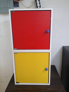 Colorful Children's Cubbies