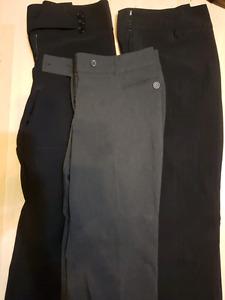 3 dress pants size 15