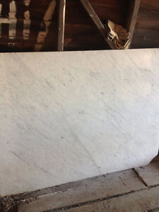 real white marble slabs