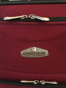Carry-on size suitcase, $15